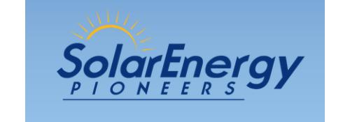 Solar Energy Pioneers, Llc